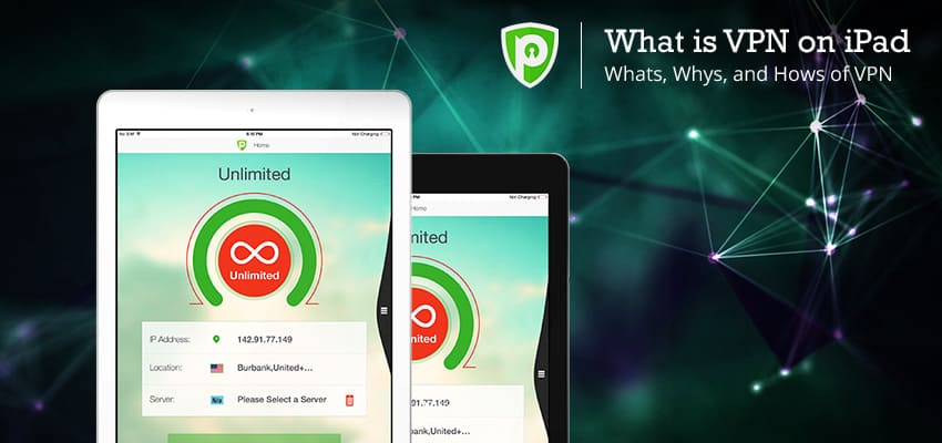 What is VPN on iPad