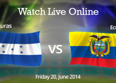Honduras vs. Ecuador Live Streaming