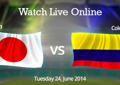 Japan vs. Colombia Live Streaming