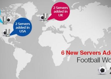 PureVPN Urgently Added 6 New Football VPN Servers