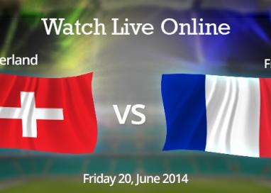 Watch Switzerland vs. France Live Online