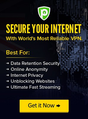 Data Retetion Security VPN Service
