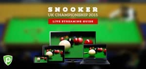Watch Snooker Live: UK Championship 2015