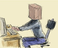 Anonymous Internet: How much anonymity can you get?