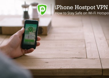 iPhone Hotspot VPN