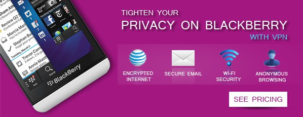 VPN on BlackBerry Z10