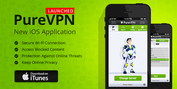 iOS VPN APP for online security and privacy