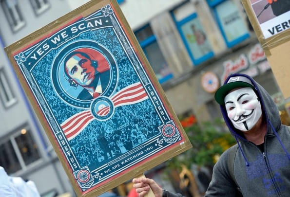 Edward Snowden's reveal that e-mails, phone calls, messages are all being tracked