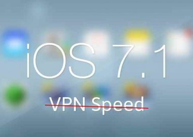 Apple Launched iOS 7.1 But With Major Bug in VPN Speed