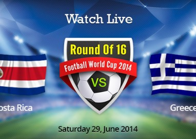 Where To Watch Costa Rica vs. Greece Live Online