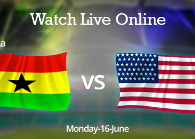 Watch USA vs. Ghana Live Online