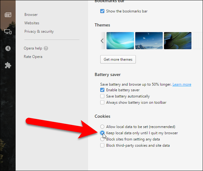 How to Clear Browsing History in Opera