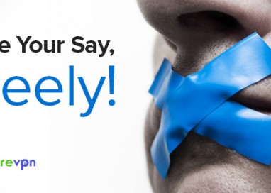 Forget Self-Censorship and Have Your Say Freely!