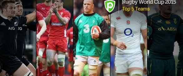 Top 5 rugby teams