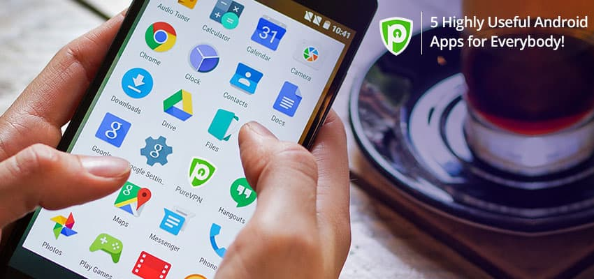 5 highly useful android apps for everyone. Black Bedroom Furniture Sets. Home Design Ideas