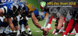 Enjoy Fluid NFL Pro Bowl Live Streaming