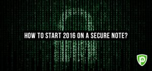 How to Start 2016 on a Secure Note?