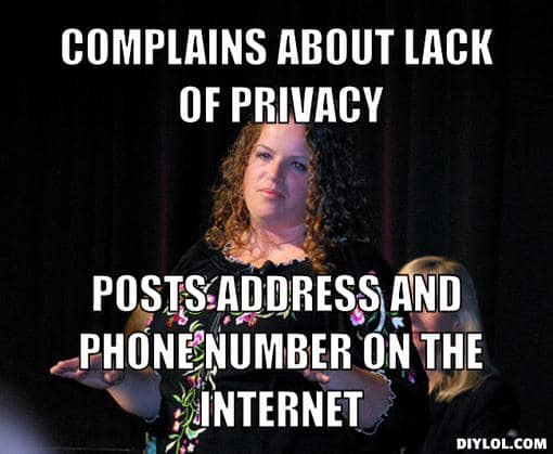 10 must see memes about online security and privacy Privacy Meme Hillary 6