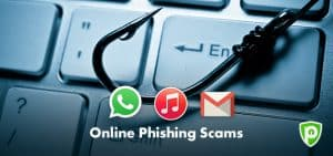 Top 3 Recent Online Phishing Scams