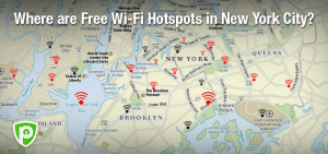 Where are Free Wi-Fi Hotspots in New York City?