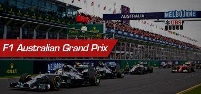 Watch Australian Grand Prix Live Stream