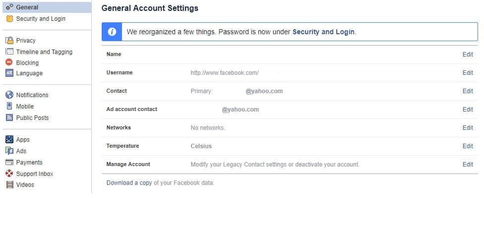 How to permanently delete your facebook account delete permanently my facebook account ccuart Image collections