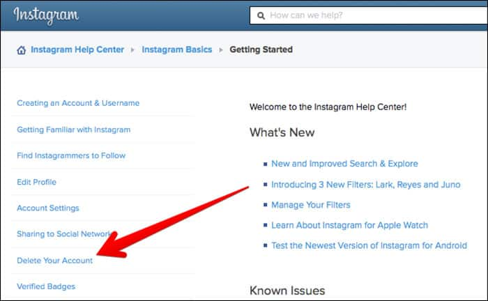 How to deactivate my instagram for iphone