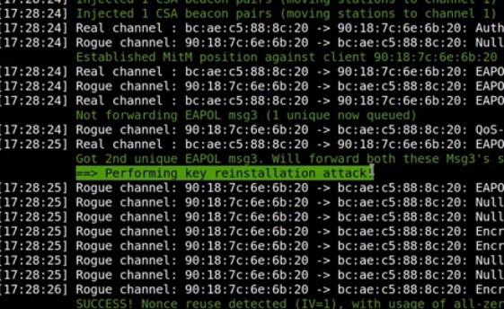 krack wifi vulnerability