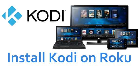 Install Kodi on Roku