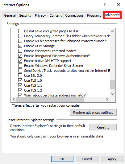How to secure Explorer