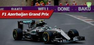 F1 Azerbaijan Grand Prix Live Streaming Schedule