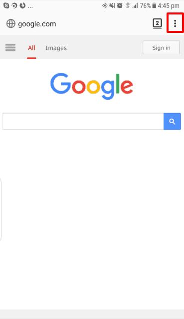 effacer historique google chrome automatiquement android