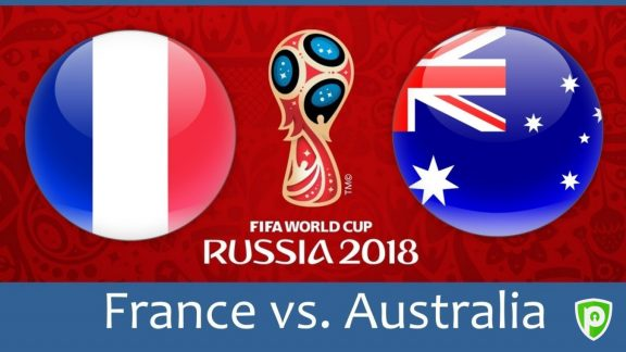 Comment regarder france contre australie en direct en streaming coupe du monde 2018 - Regarder coupe de france en direct ...