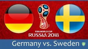 Comment Regarder Allemagne vs Suède en Direct en Streaming(Coupe du Monde FIFA 2018)