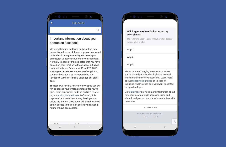 Facebook Notification Alert