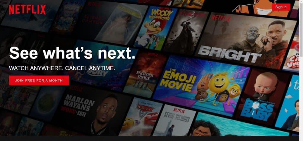 Netflix US Library