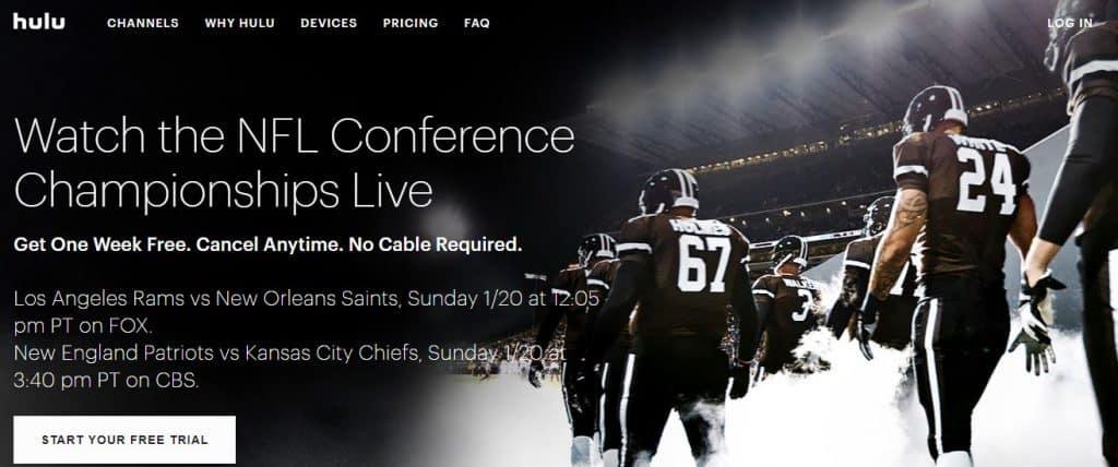 Hulu Live Sports