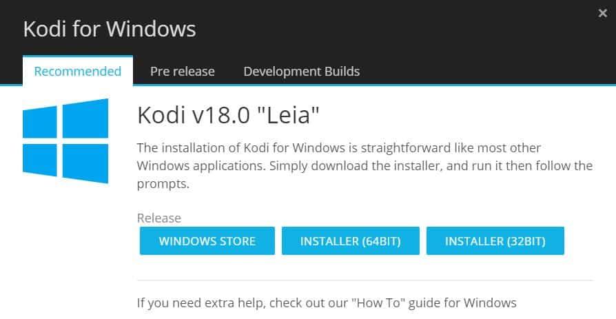 Install Netflix On Kodi Windows app