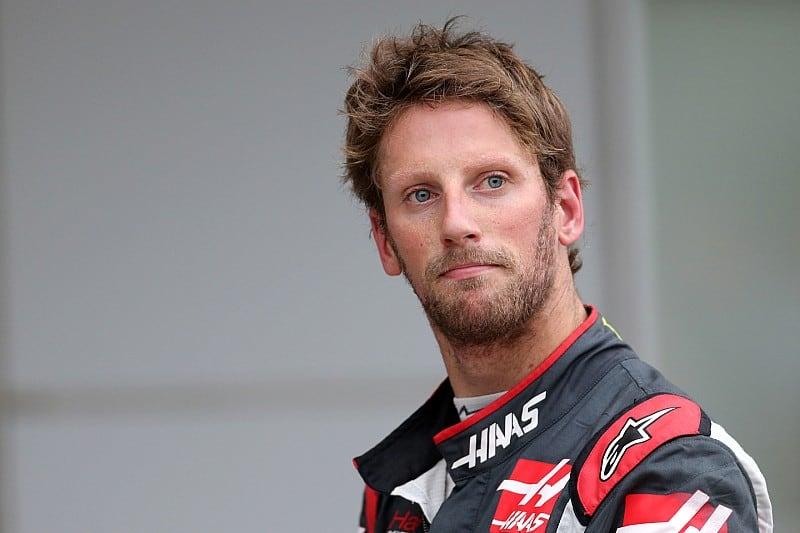 Haas F1 Team Romain Grosjean