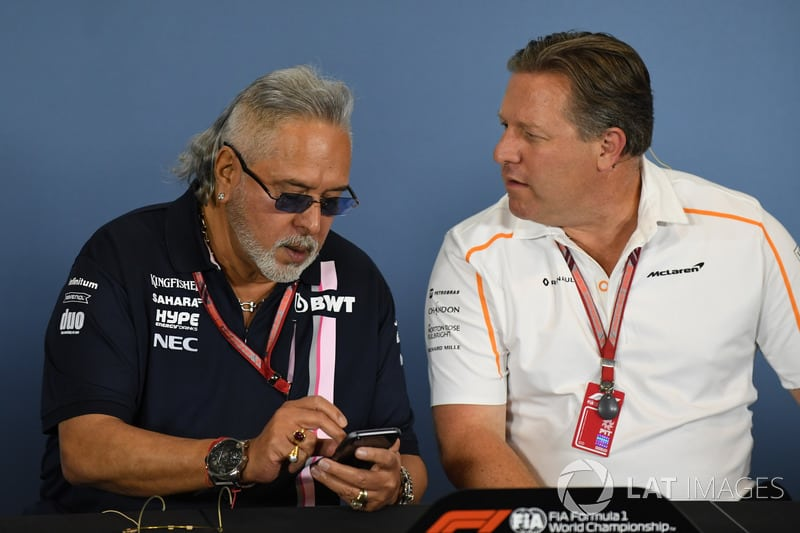 forceindia and mclaren bosses