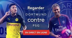 Comment regarder Dortmund contre PSG en direct en ligne?