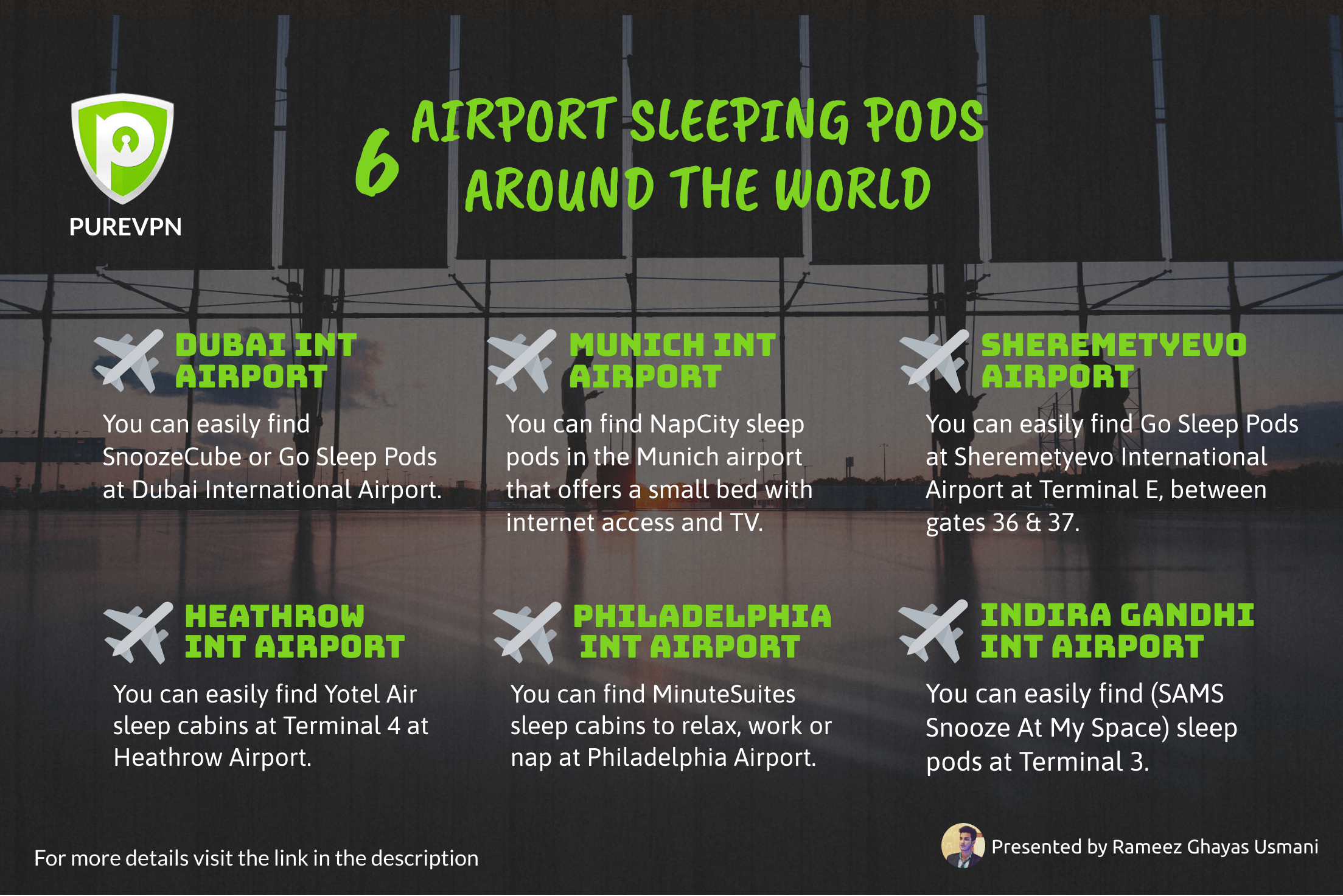 Airport Sleeping Pods All Around The World