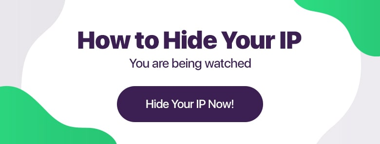 how to hide your IP