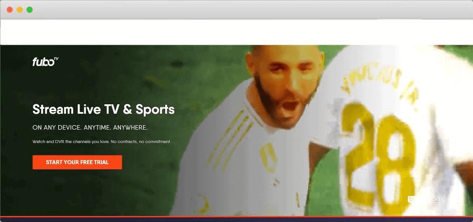 fubo tv football streaming site