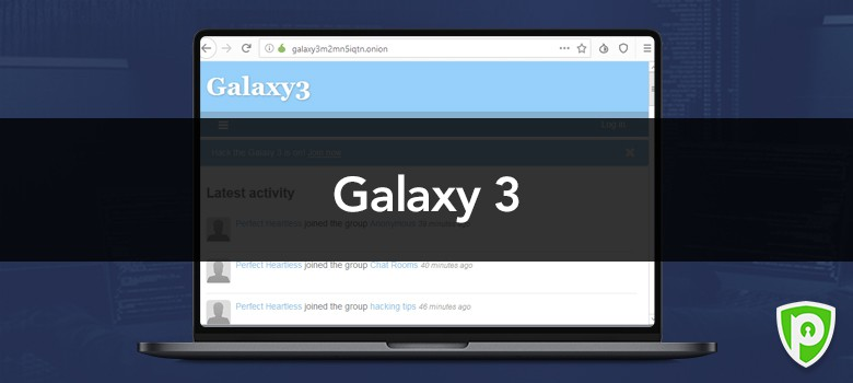 Darkweb website - Galaxy 3