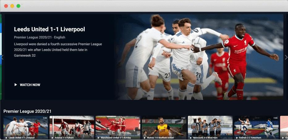 hotstar football streaming site