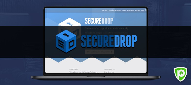 Darkweb website - Secure Drop