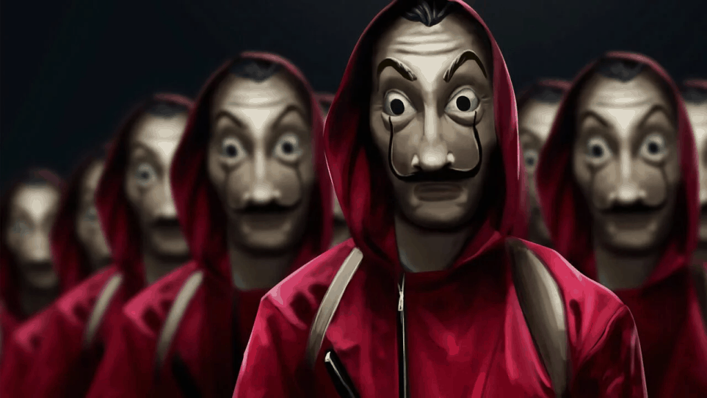 Top TV shows to Binge Watch While Staying at Home Money heist