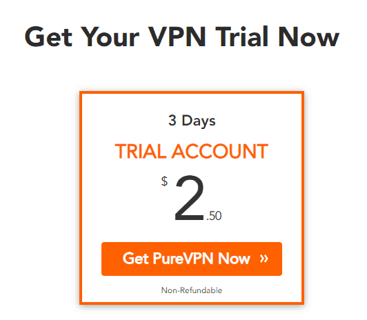 Paid VPN Trial