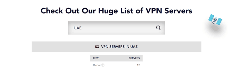 UAE VPN Server